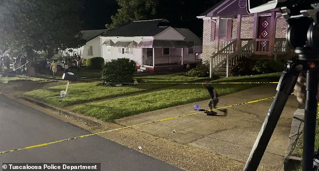 Boy, 13, is killed as he plays on iPad in his bedroom after shooter outside fires over a dozen shots