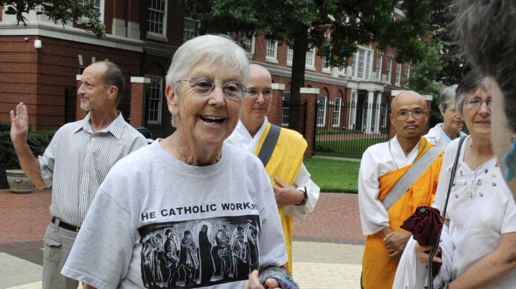 Megan Rice, peace activist nun imprisoned for nuclear site break-in, dies at 91