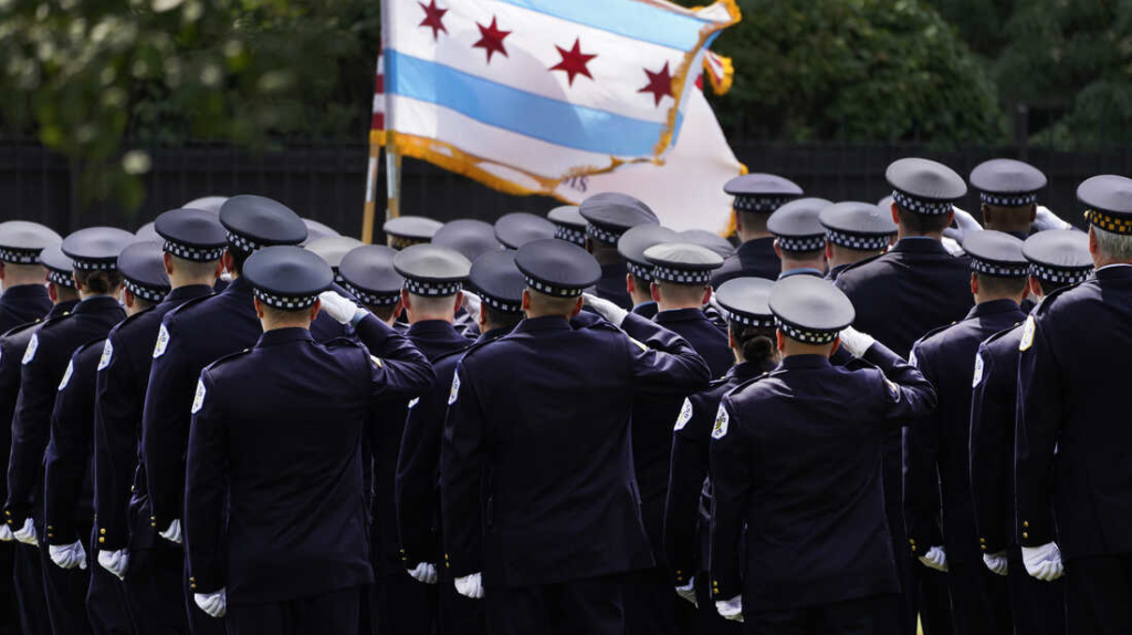 Police officers and unions put up a fight against vaccine mandates for public workers